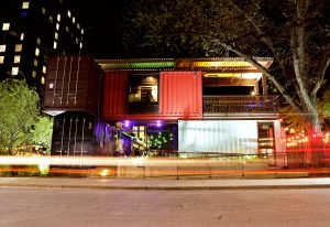 Container Bar Front