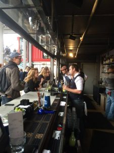 Container bar bartender