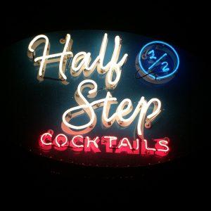 Half Step Bar Logo