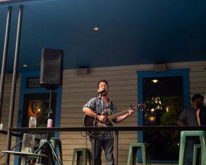 Icenhauer's patio concert