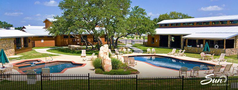 La Hacienda RV Resort and Cottages Pool