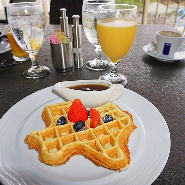 Lakeway Resort & Spa Waffle Breakfast