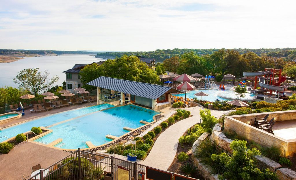 Lakeway Resort & Spa pool