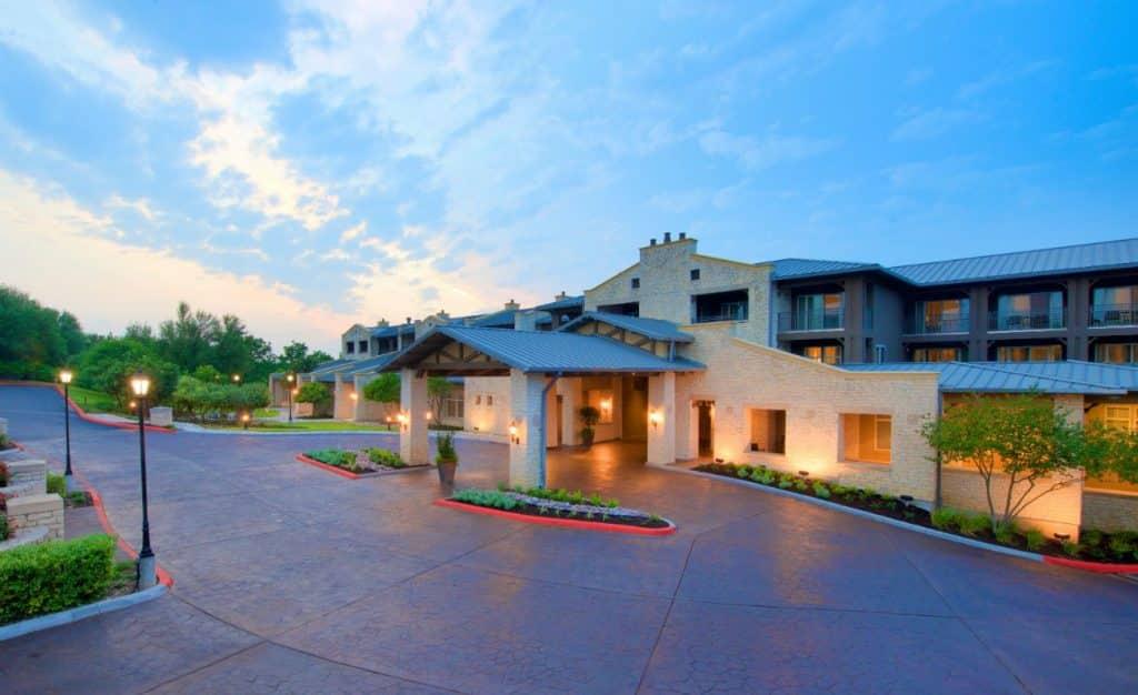 Lakeway Resort & Spa Entrance