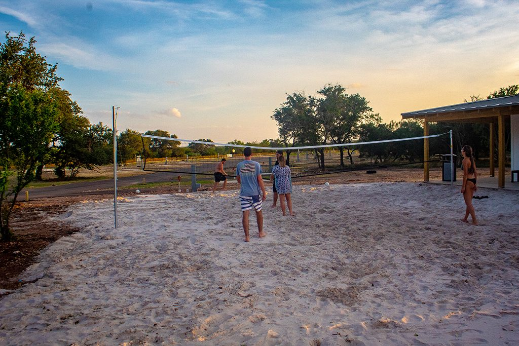 Open Air Resorts Sand Volleyball
