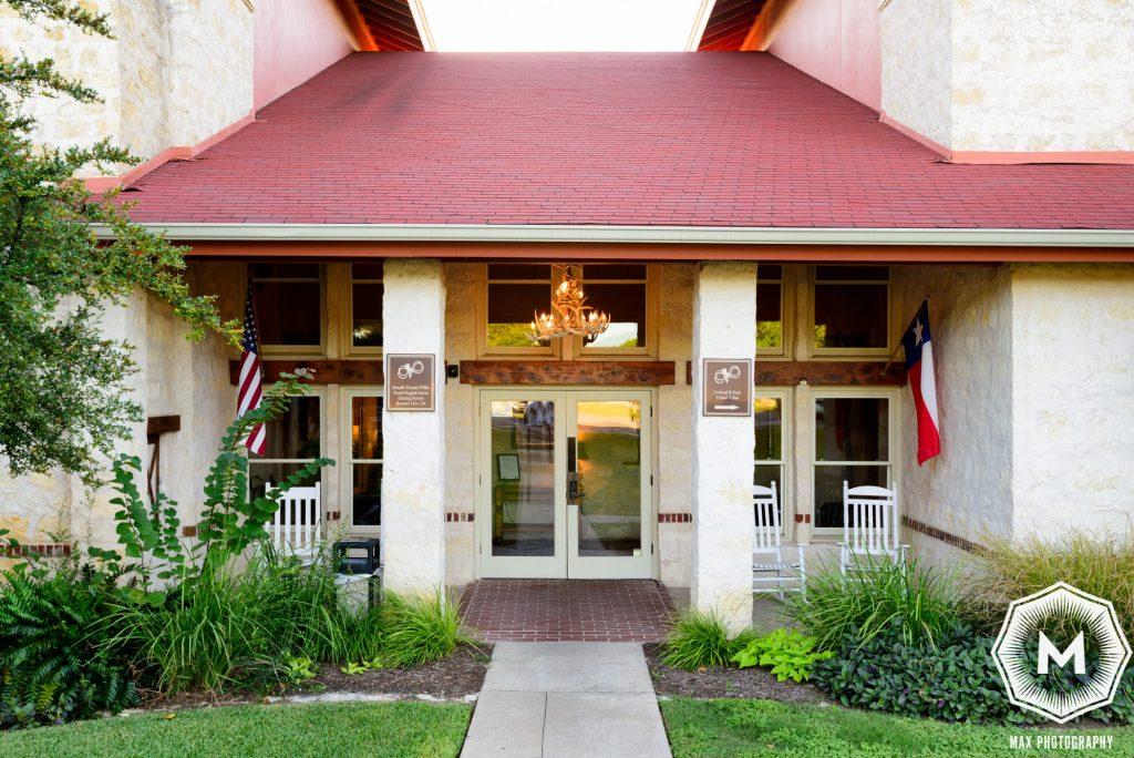 Vintage Villa Entrance