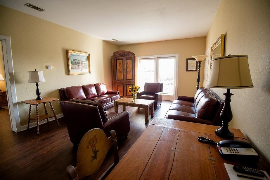 Vintage Villa Living Room