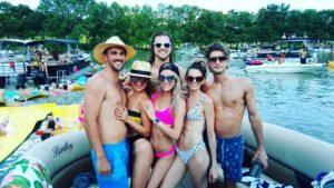 Party on Lake Austin