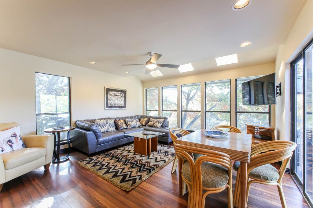 Second Dining Room Lake Austin Vacation Rental
