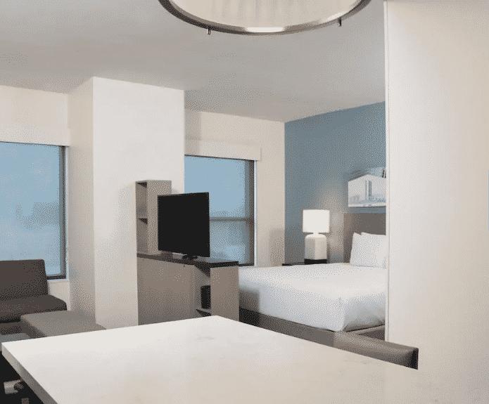 Austin Hyatt Hotel Bedroom