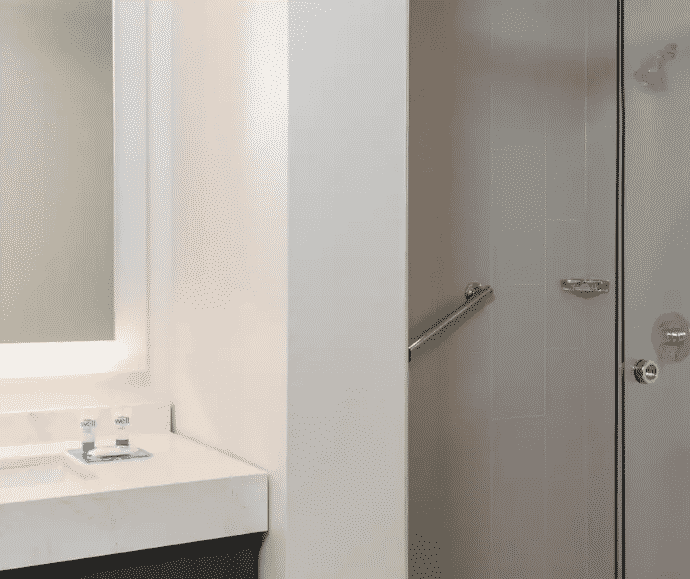 Austin Hyatt Hotel Bathroom