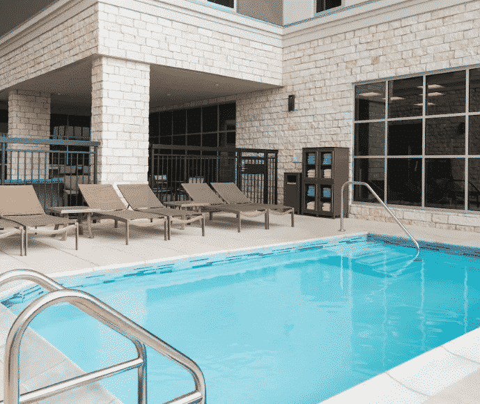 Austin Hyatt Hotel Pool