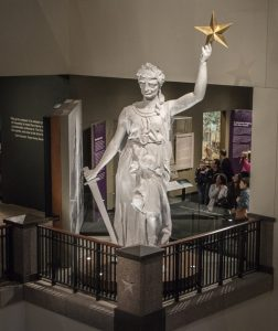 Bullock Museum Statue