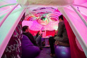 Contemporary Austin Tent