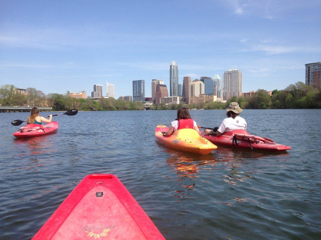 kayaking In Austin, Texas