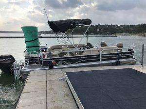 Blue Streak Pontoon Boat