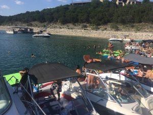 Yacht boat party