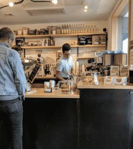Fleet Coffee Inside