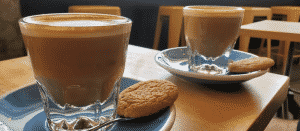 Coffe Latte & Cookies