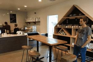Seventh Flag Coffee Inside