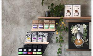 fleet coffee display