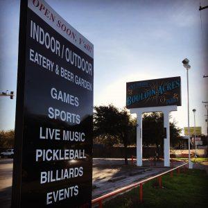 Bouldin Acres Sign