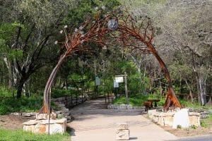 Austin Nature Science Center Enterance