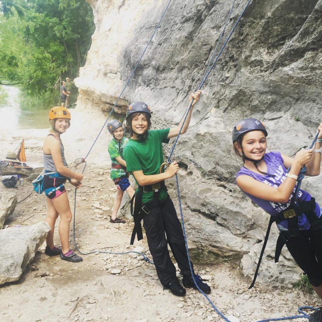 Austin rock Climbing group