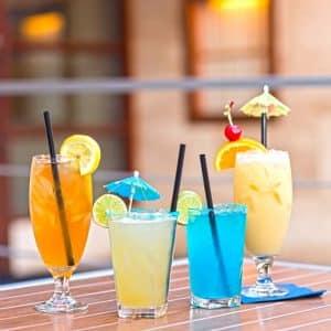 Blue Cafe Drinks