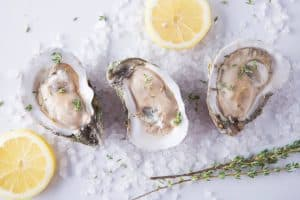 Blue cafe Oysters