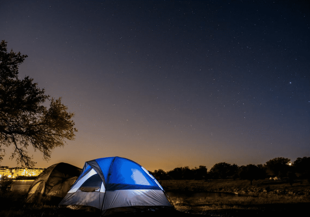 CAMPING AT PACE BEND PARK