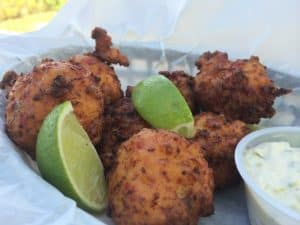 Grill Onch Fritters