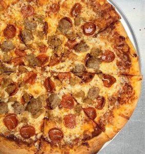 Gnarly Gar Pizza