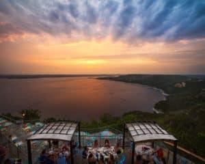 Oasis Sunset