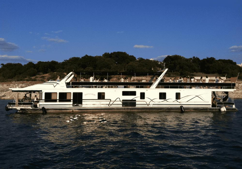 Austin rental Boat Houseboat
