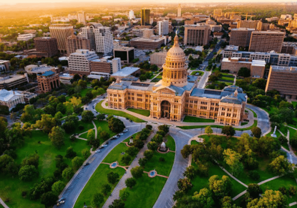 Texas State Capitol Landscape