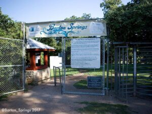 Barton Springs Pool Image Logo