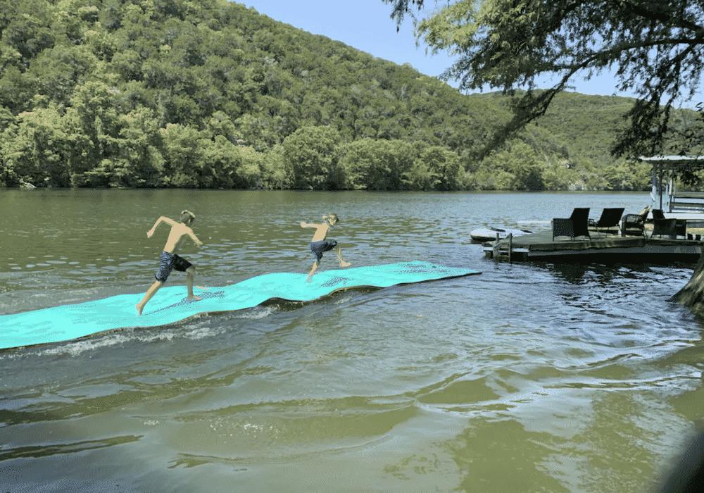Lake Austin Water Mat