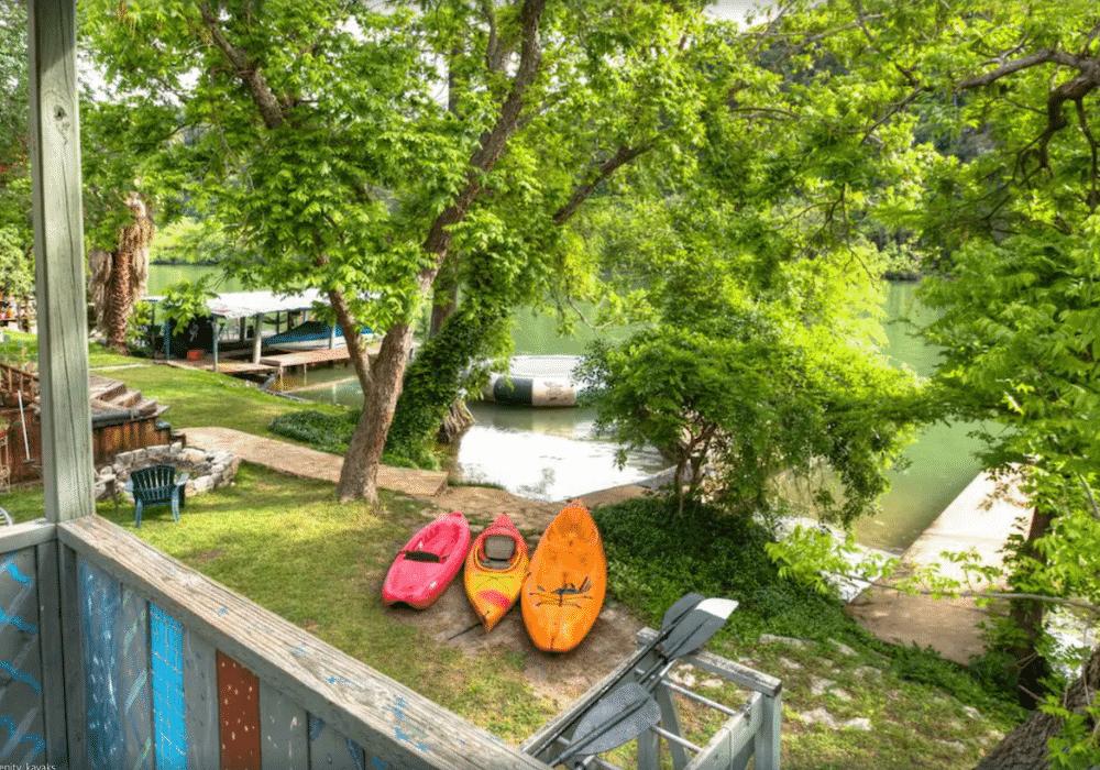 Lake Austin Kayak