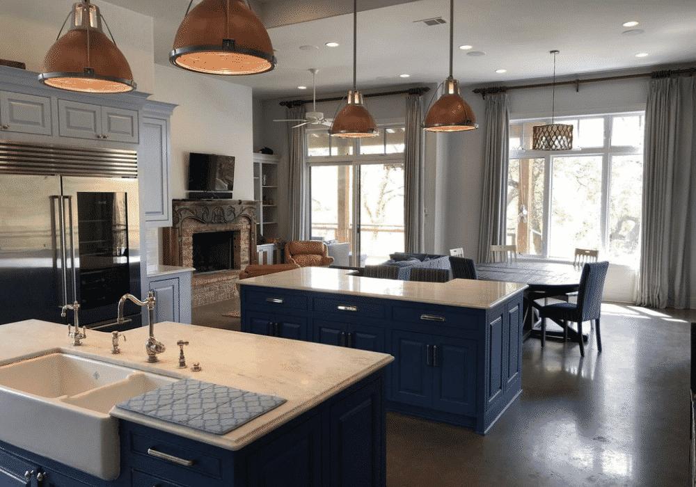 Lake Austin Retreat Kitchen