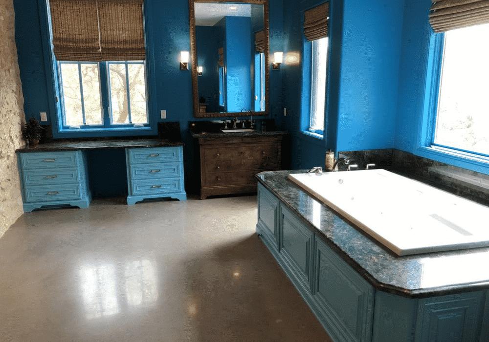 Lake Austin Retreat Master Bathroom