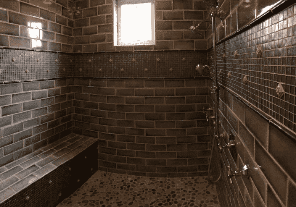 Lake Austin Retreat Master Shower