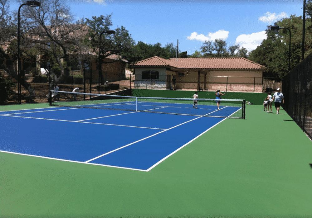 Lake Travis Resort Tennis Courts