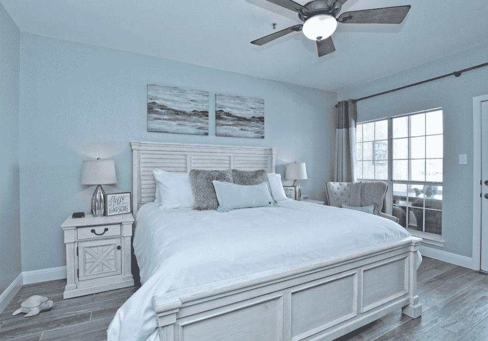 Nautical Lake Retreat Bedroom One