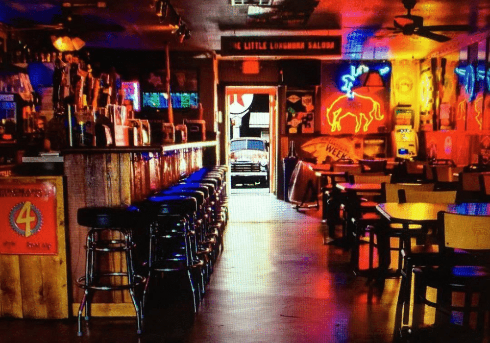 THE LITTLE LONGHORN SALOON