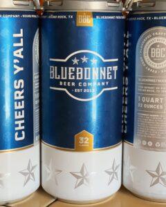 Bluebonnet Brewery Beer