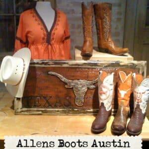allens boots inside