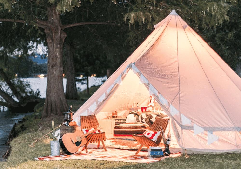 Glamping Tent Setup