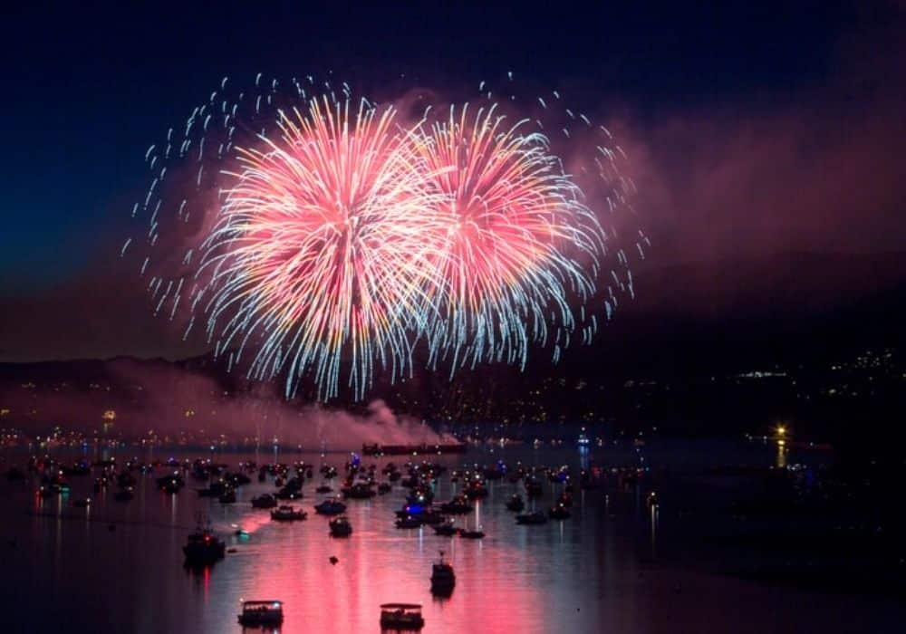 Starnes Island Fireworks