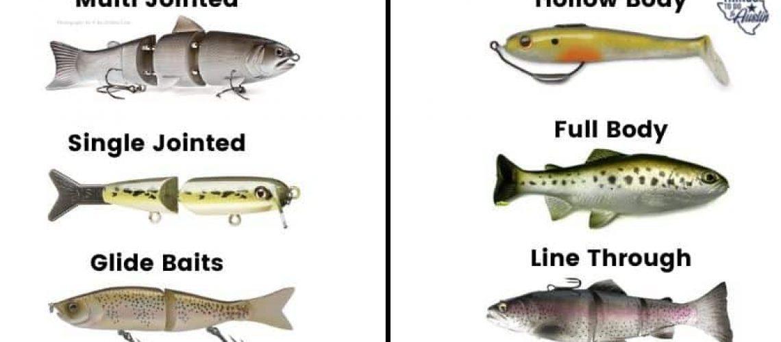 Texas bass Lures
